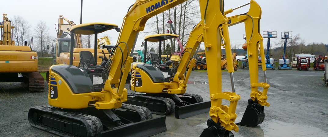 Used Excavators for Sale in Pacific Northwest